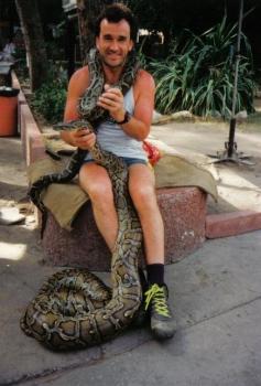 ´ne echte Schlange