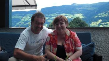 Chris mit der Chefin Marianne