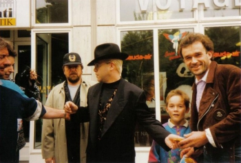 Chris Wolff und Elton John