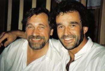 Chris Wolff und Peter Rapp vom ORF.