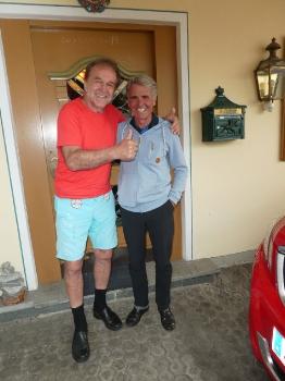 Chris Wolff mit Peter Habeler