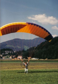Chris Wolff - Paragliding