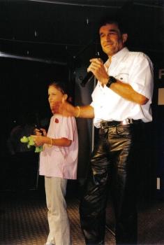 Chris Wolff singt mit seiner Tochter Virginia