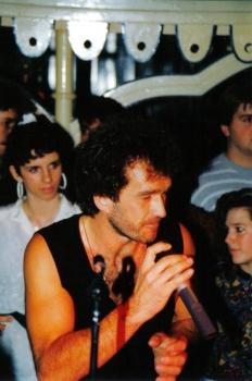 Chris Wolff bei einem seiner Auftritte