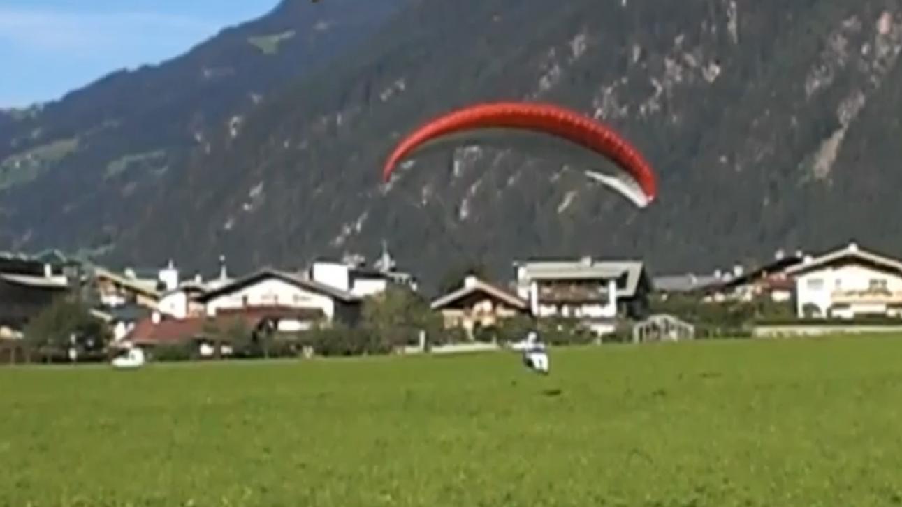 Landung im Zillertal
