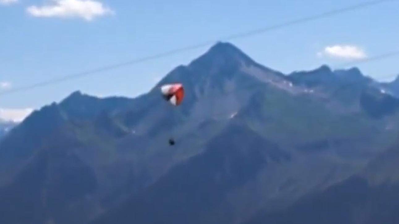 Paragliden am Penken / Zillertal